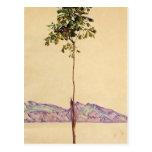 Egon Schiele- Chestnut Tree at Lake Constance