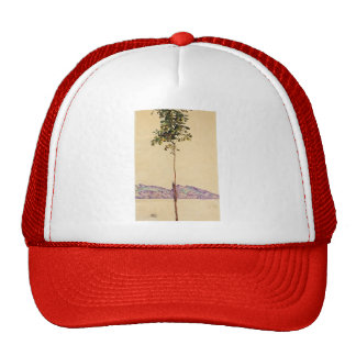Egon Schiele- Chestnut Tree at Lake Constance Trucker Hats