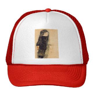 Egon Schiele- Child in Black Hat