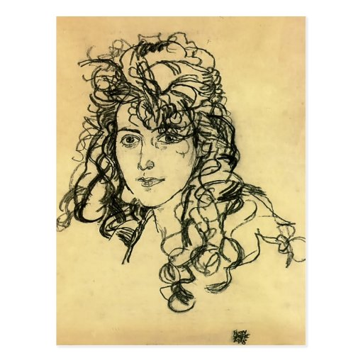 Egon Schiele- Madame Sohn Postcard