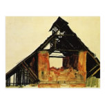 Egon Schiele- Old Brick House in Carinthia Postcard