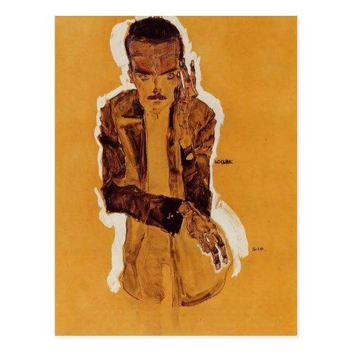 Egon Schiele- Portrait of Eduard Kosmack Postcards