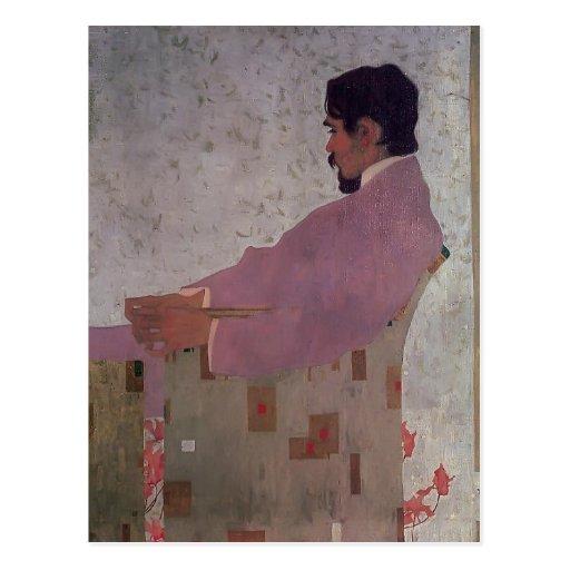 Egon Schiele-Portrait of the Painter Anton Peschka Postcards