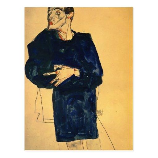 Egon Schiele- Rufer Post Card