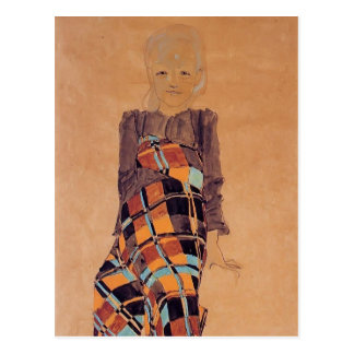 Egon Schiele- Seated Girl Post Cards