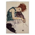 Egon Schiele- Seated Woman with Bent Knee