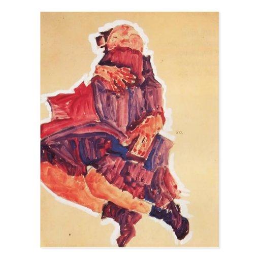 Egon Schiele- Sleeping Child Post Card