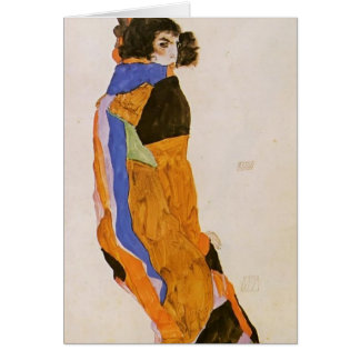Egon Schiele- The Dancer Moa Card