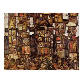 Egon Schiele- Woodland Prayer Postcard