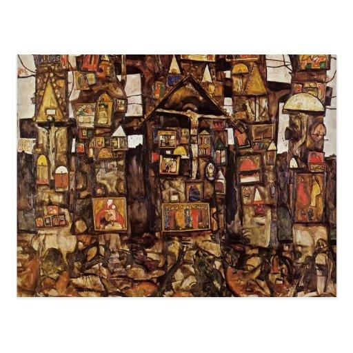 Egon Schiele- Woodland Prayer Postcards