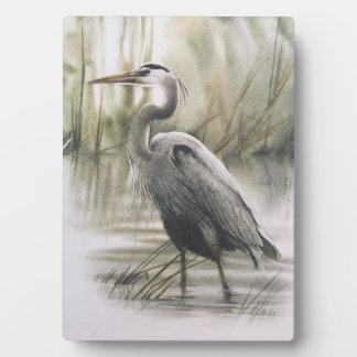 Egret 5x7 Canvas Print Plaque