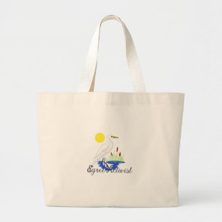 Egret Activist Jumbo Tote Bag