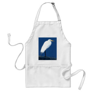 Egret by Cindy Agan Aprons