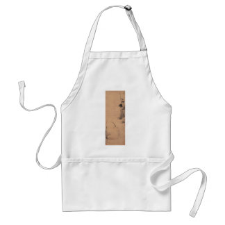 Egret by the Pool by Bada Shanren Standard Apron