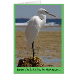 Egret Card