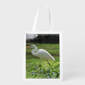 Egret Grocery Bag