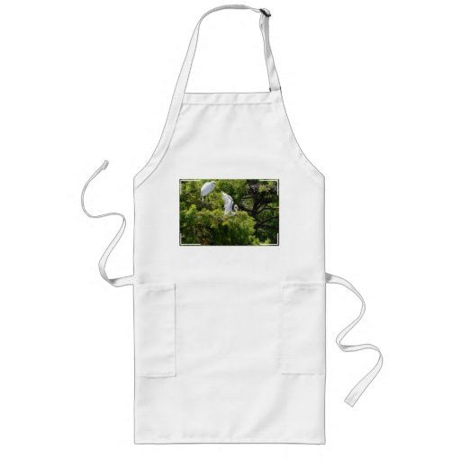 Egret in a Tree Apron
