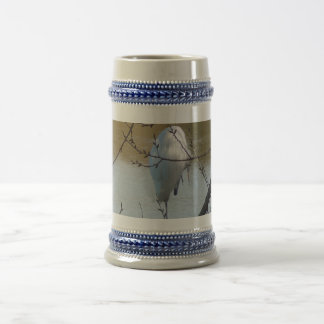 Egret in Tree Coffee Mugs