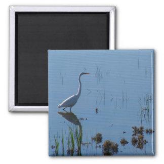Egret-Lake Cargellico Refrigerator Magnets