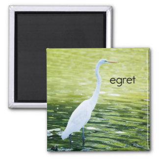 Egret Refrigerator Magnet