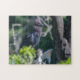 Egrets on the Silver River Jigsaw Puzzle