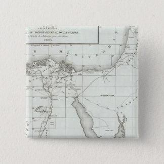 Egyopt and Palestine 15 Cm Square Badge