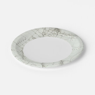 Egyopt and Palestine 7 Inch Paper Plate