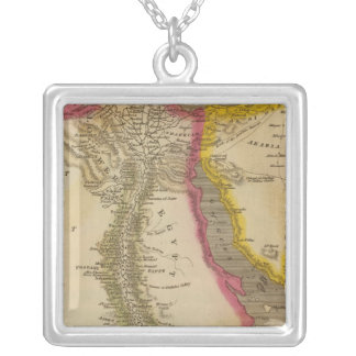 Egypt 10 silver plated necklace