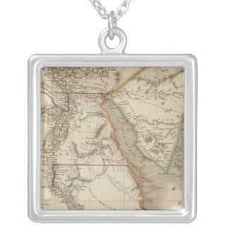 Egypt 16 silver plated necklace