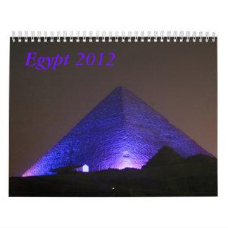 Egypt  2012 wall calendars