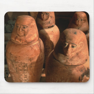 Egypt, 26th dynasty Canopic jars found in Abu Mouse Mat
