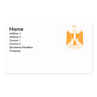 Egypt (2) pack of standard business cards