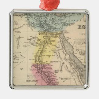 Egypt 5 Silver-Colored square decoration