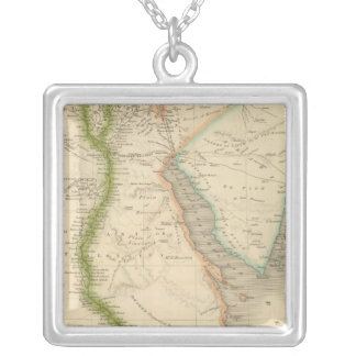 Egypt 8 silver plated necklace