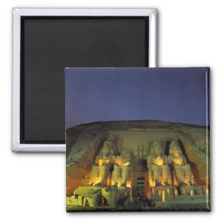 Egypt, Abu Simbel, Colossal figures of Ramesses Magnet