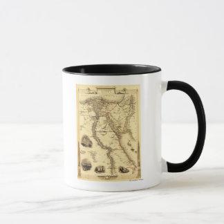 Egypt and ArabiaPanoramic MapEgypt Mug