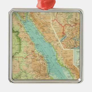 Egypt and the Nile Christmas Ornament