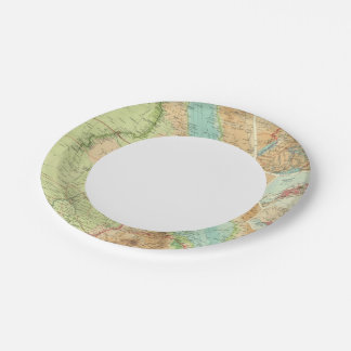 Egypt and the Nile Paper Plate