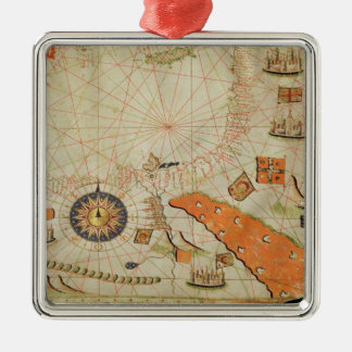 Egypt and the Red Sea Christmas Ornament