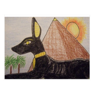Egypt Anubis Postcard