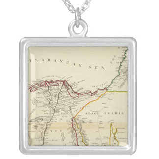 Egypt, Arabia, Palestine Silver Plated Necklace