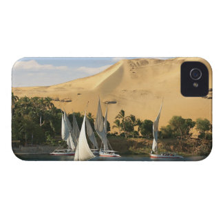 Egypt, Aswan, Nile River, Felucca sailboats, 2 iPhone 4 Covers