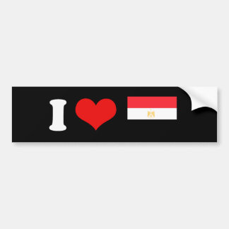 Egypt Car Bumper Sticker