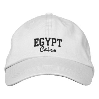 Egypt, Cairo Custom Hat Embroidered Hat