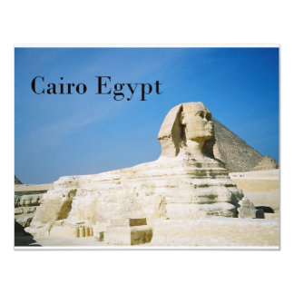 Egypt Cairo Giza Sphinx-2 (St.K) Card
