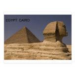 Egypt Cairo Giza Sphinx (St.K) Post Card