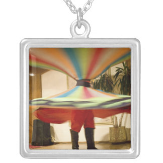 Egypt, Cairo. Whirling dervish dazzling GCT Silver Plated Necklace