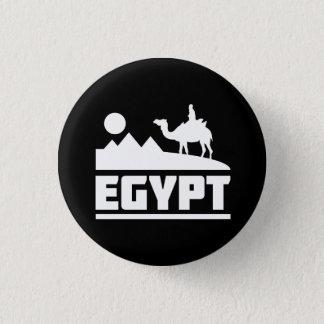 Egypt Camel Silhouette 3 Cm Round Badge