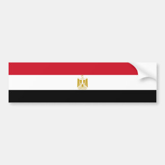 Egypt/Egyptian Flag Bumper Sticker