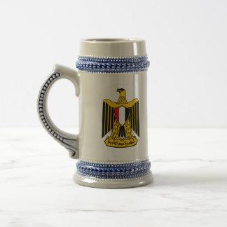 egypt emblem beer steins
